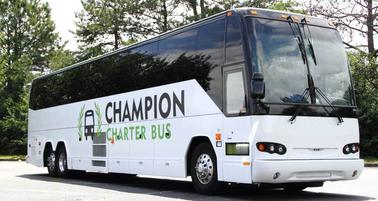 denver charter bus rental