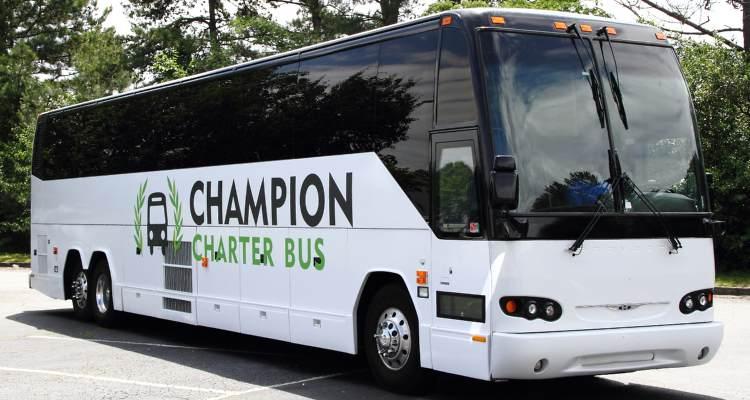sacramento charter bus rentals
