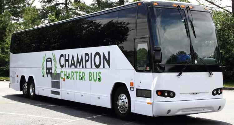 aurora charter bus rental