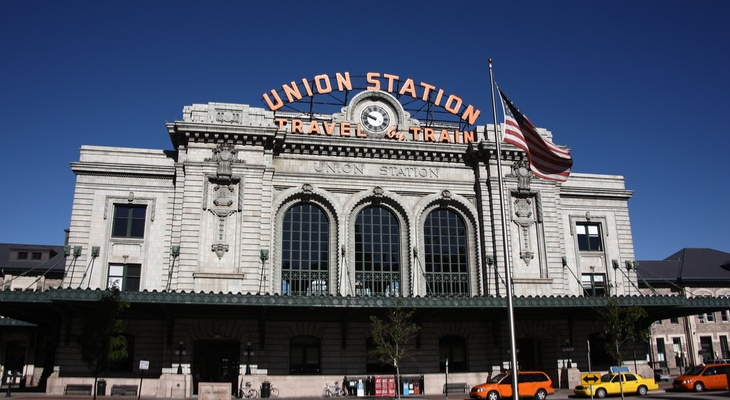 union station denver champion charter bus weekend itinerary